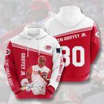 Topsportee MLB Cincinnati Reds KEN GRIFFEY JR. 30 Limited Edition Amazing Men's and Women's Hoodie Full Sizes TOP000206