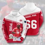 Topsportee MLB Cincinnati Reds YASIEL PUIG 66 Limited Edition Amazing Men's and Women's Hoodie Full Sizes