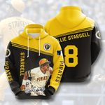 Topsportee MLB Pittsburgh Pirates WILLIE STARGELL 8 Limited Edition Amazing Men's and Women's Hoodie Full Sizes GTS001258