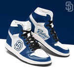 Topsportee MLB San Diego Padres Limited Edition Men's and Women's Jordan Sneakers All US Size TOP000204