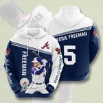 Topsportee MLB Atlanta Braves Freddie Freeman 5 Limited Edition Amazing Men's and Women's Hoodie Full Sizes