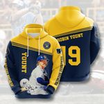 Topsportee MLB Milwaukee Brewers ROBIN YOUNT 19 Limited Edition Amazing Men's and Women's Hoodie Full Sizes