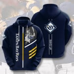Topsportee MLB Tampa Bay Rays Limited Edition Amazing Men's and Women's Hoodie Full Sizes