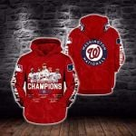 Topsportee MLB Washington Nationals Limited Edition Amazing Men's and Women's Hoodie T-shirt Sweatshirt Full Sizes