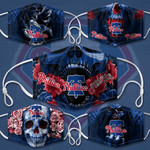Topsportee MLB Philadelphia Phillies Limited Edition Amazing 5PCS Set PM2.5 Activated Carbon Filter Face Masks