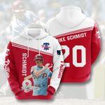 Topsportee MLB Philadelphia Phillies MIKE SCHMIDT 20 Limited Edition Amazing Men's and Women's Hoodie Full Sizes TOP000503