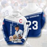 Topsportee MLB Chicago Cubs RYNE SANDBERG 23 Limited Edition Amazing Men's and Women's Hoodie Full Sizes GTS001023