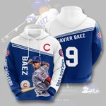 Topsportee MLB Chicago Cubs Javier Baez 9 Limited Edition Amazing Men's and Women's Hoodie Full Sizes GTS000776