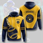 Topsportee MLB Milwaukee Brewers Limited Edition Amazing Men's and Women's Hoodie Full Sizes TOP000015