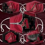 Topsportee MLB Arizona Diamondbacks Limited Edition Amazing 5PCS Set PM2.5 Activated Carbon Filter Face Masks