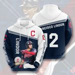 Topsportee MLB Cleveland Indians Francisco Lindor 12 Limited Edition Amazing Men's and Women's Hoodie Full Sizes