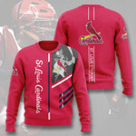 Topsportee MLB St.Louis Cardinals Limited Edition Amazing Men's and Women's Sweatshirt Full Sizes TOP000074