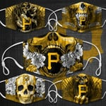Topsportee MLB Pittsburgh Pirates Limited Edition Amazing 5PCS Set PM2.5 Activated Carbon Filter Face Masks TOP000407