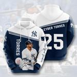 Topsportee MLB New York Yankees GLEYBER TORRES 25 Limited Edition Amazing Men's and Women's Hoodie Full Sizes GTS000725