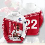 Topsportee MLB Philadelphia Phillies ANDREW MCCUTCHEN 22 Limited Edition Amazing Men's and Women's Hoodie Full Sizes