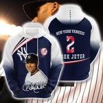 Topsportee MLB New York Yankees DEREK JETER 2 Limited Edition Amazing Men's and Women's Hoodie Full Sizes