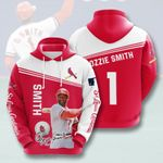 Topsportee MLB St.Louis Cardinals OZZIE SMITH 1 Limited Edition Amazing Men's and Women's Hoodie Full Sizes