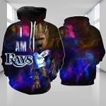 Topsportee Tampa Bay Rays Limited Edition Over Print Full 3D Hoodie S - 5XL