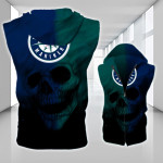 Topsportee Seattle Mariners Limited Edition Over Print Full 3D Sleeveless Zipper Hoodie