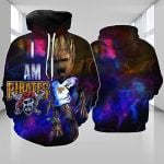 Topsportee Pittsburgh Pirates Limited Edition Over Print Full 3D Hoodie S - 5XL