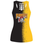 Topsportee Pittsburgh Pirates Limited Edition Over Print Full 3D Tank Top S - 5XL
