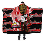 Topsportee St. Louis Cardinals Limited Edition Over Print Full 3D Hooded Blanket