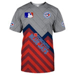Topsportee Toronto Blue Jays Limited Edition Over Print Full 3D T-shirt S - 5XL TOP000544