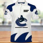 Topsportee Vancouver Canucks Polo Shirt All Over Print S - 5XL