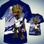 Stocktee Los Angeles Dodgers Limited Edition Over Print Full 3D Hoodie/ Zipper Hoodie/ Tshirt TOP000464
