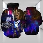 Stocktee Milwaukee Brewers Limited Edition Over Print Full 3D Hoodie S - 5XL