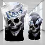 Topsportee Tampa Bay Rays Limited Edition Over Print Full 3D Sleeveless Zipper Hoodie