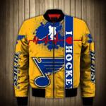 Topsportee St Louis Blues Winter Bomber Jacket 3D Full Print