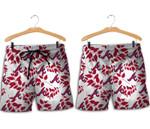 Topsportee Atlanta Braves Leaves Hawaiian Shirt and Shorts Summer Collection Size S-5XL NLA004034