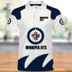 Topsportee Winnipeg Jets Polo Shirt All Over Print S - 5XL