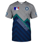 Topsportee Seattle Mariners Limited Edition Over Print Full 3D T-shirt S - 5XL TOP000612