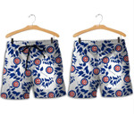 Topsportee Chicago Cubs Leaves Hawaiian Shirt and Shorts Summer Collection Size S-5XL NLA004037