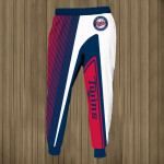 Stocktee Minnesota Twins Limited Edition Over Print Full 3D Sweatpants Zip Hoodie S - 5XL