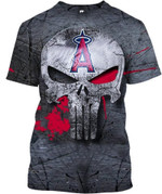 Stocktee Los Angeles Angels Limited Edition Over Print Full 3D T-shirt Zip Hoodie Fleece S - 5XL