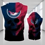 Stocktee Minnesota Twins Limited Edition Over Print Full 3D Sleeveless Zipper Hoodie