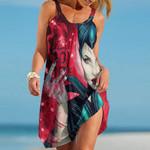 Topsportee Boston Red Sox Limited Edition Summer Beach Dress NLA001736