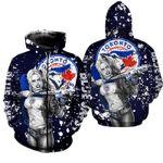 Topsportee Toronto Blue Jays Limited Edition Over Print Full 3D Hoodie/Zip Hoodie/T-shirt S - 5XL TOP000324