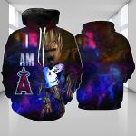 Stocktee Los Angeles Angels Limited Edition Over Print Full 3D Hoodie S - 5XL