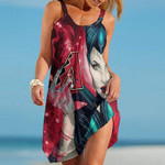 Topsportee Arizona Diamondbacks Limited Edition Summer Beach Dress NLA001733