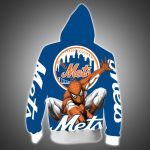 Stocktee New York Mets Limited Edition Over Print Full 3D Zip Hoodie S - 5XL TOP000534