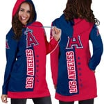 Stocktee Los Angeles Angels Limited Edition Over Print Full 3D Dress Hoodie