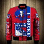 Topsportee New York Rangers Winter Bomber Jacket 3D Full Print