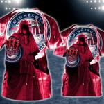 Stocktee Minnesota Twins Limited Edition Over Print Full 3D Zipper Hoodie S - 5XL