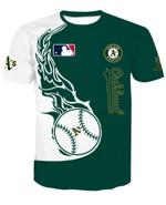 Topssportee Oakland Athletics Limited Edition Over Print Full 3D T-shirt Sweater Hoodie Tank S - 5XL