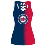Stocktee Minnesota Twins Limited Edition Over Print Full 3D Tank Top