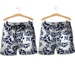 Topsportee New York Yankees Leaves Hawaiian Shirt and Shorts Summer Collection Size S-5XL NLA004051
